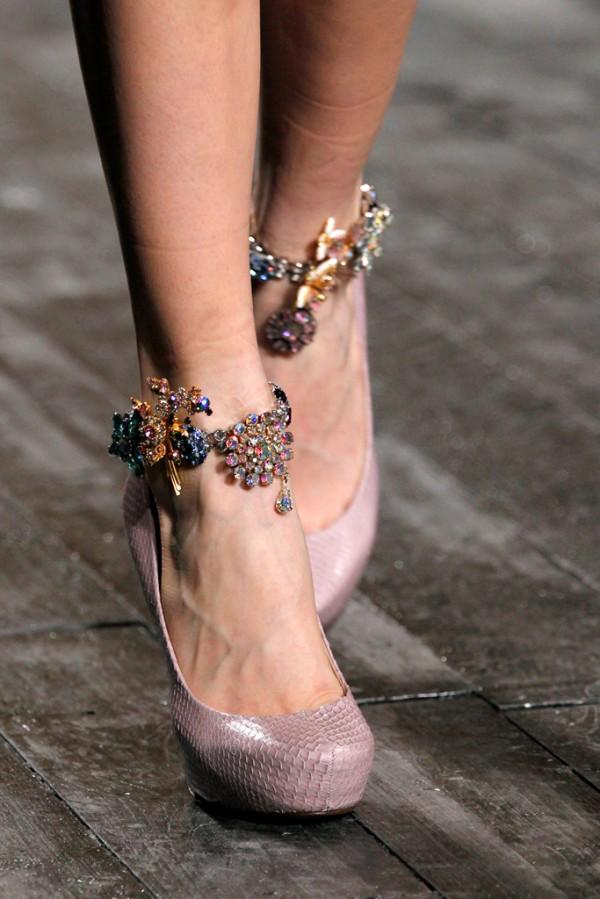 Обувки Nina Ricci сезон есен-зима 2012