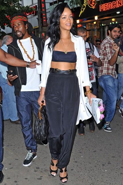 Стилът на модния хамелеон Rihanna