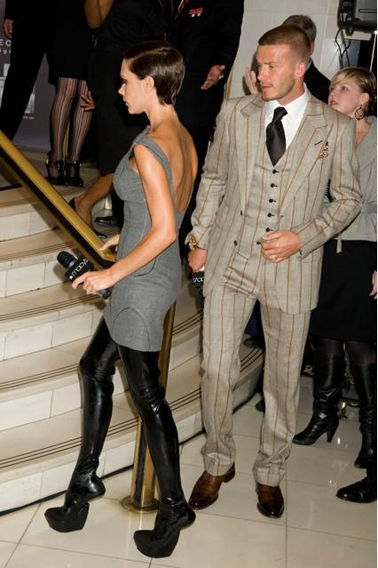 Стилът на модната икона Victoria Beckham