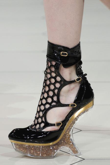 Обувки Alexander McQueen от колекция пролет 2013 RTW