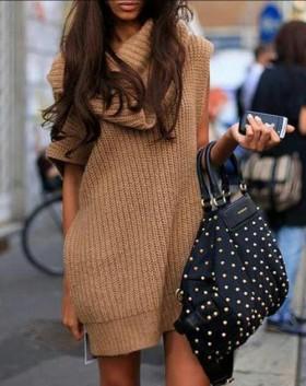 Вдъхновени от пуловера-рокля