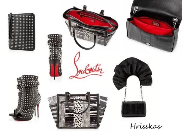 Обувки и чанти Christian Louboutin пролет/лято 2013