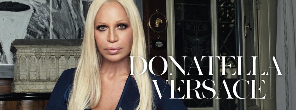Hrisskas style Donatella Versace new
