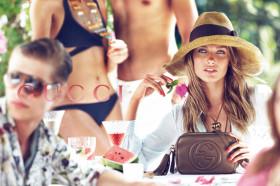 Рекламните кампании на Gucci в сезон пролет/лято 2013