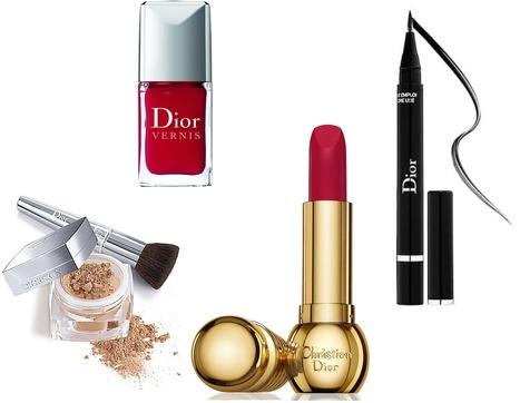 Красиви с козметичните продукти на Christian Dior