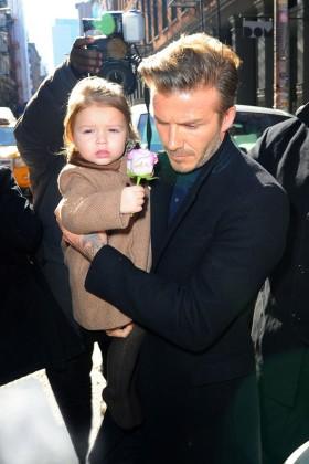Стилът на малката Harper Seven Beckham