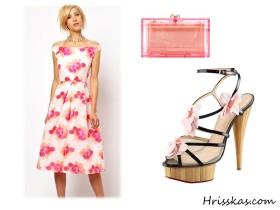 Готин оutfit с пролетни рокли Asos