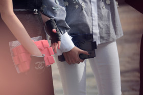 Чанти Chanel извън модния подиум