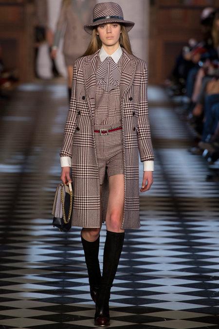 Модни тенденции есен/зима 2013: Геометричният принт – тартан