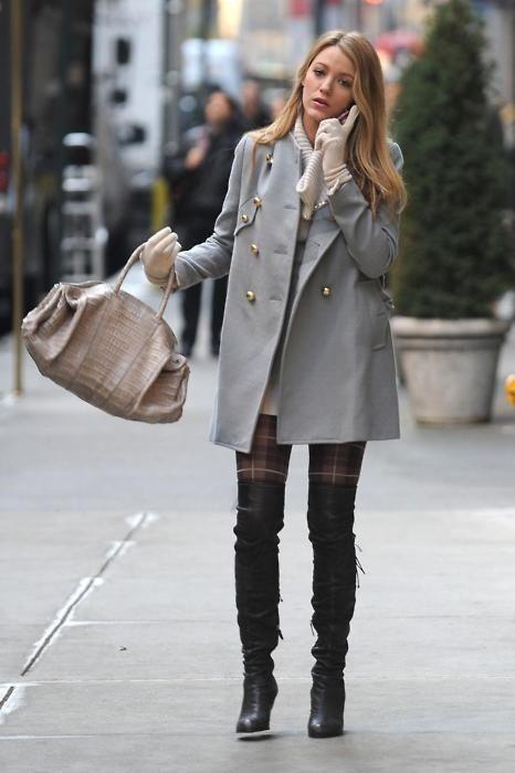 Модни вдъхновения: Gossip girl outfits