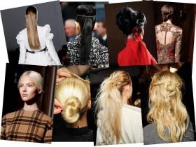 Прическите от модните ревюта на световните дизайнери