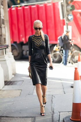 Вдъхновени от кожената рокля