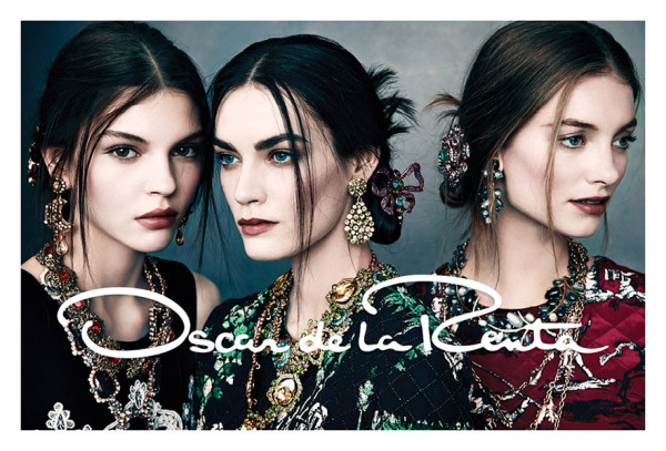 Рекламната кампания на Oscar de la Renta есен/зима 2013