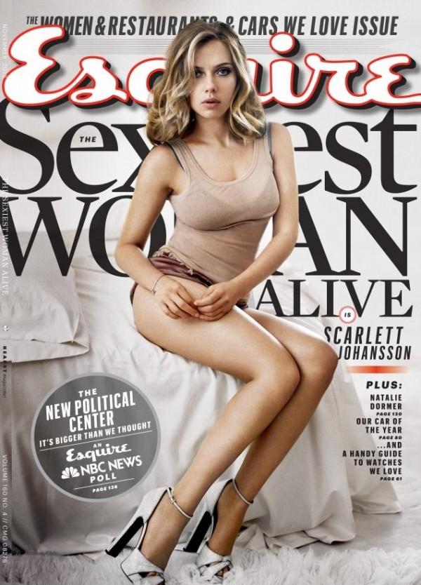 Scarlett Johansson – най-секси жена на 2013