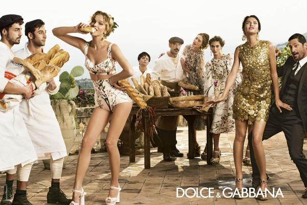 Рекламната кампания на Dolce&Gabbana за сезон пролет/лято 2014