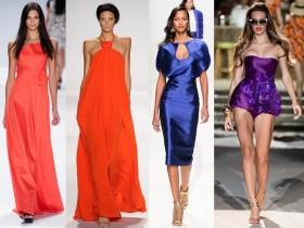Модни тенденции пролет/лято 2014: Великолепни ярки цветове