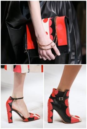 Обувки и чанти Valentino от колекцията за сезон есен/зима 2014/2015