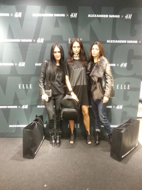 Представянето на колекцията на Alexander Wang x H&M в София