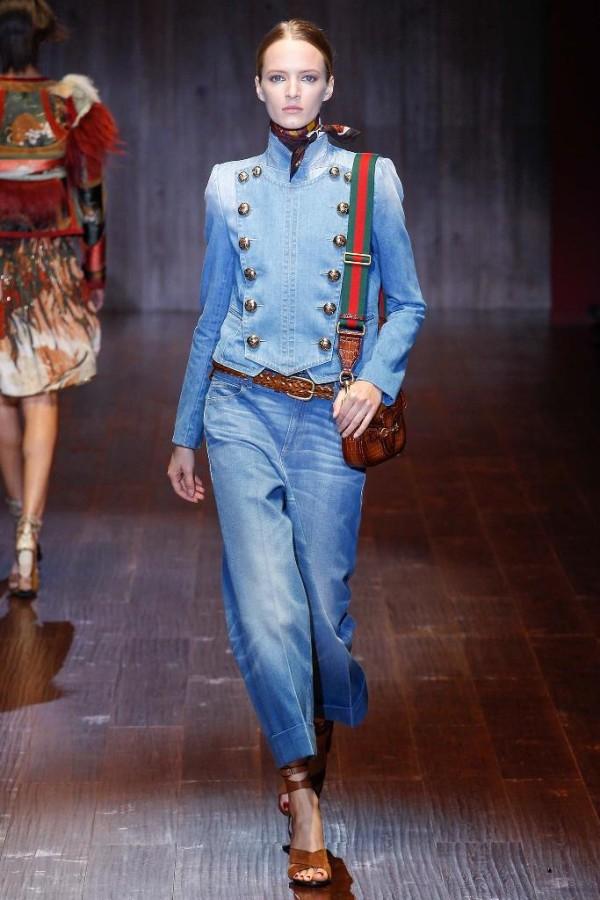 Модни тенденции пролет/лято 2015: Деним
