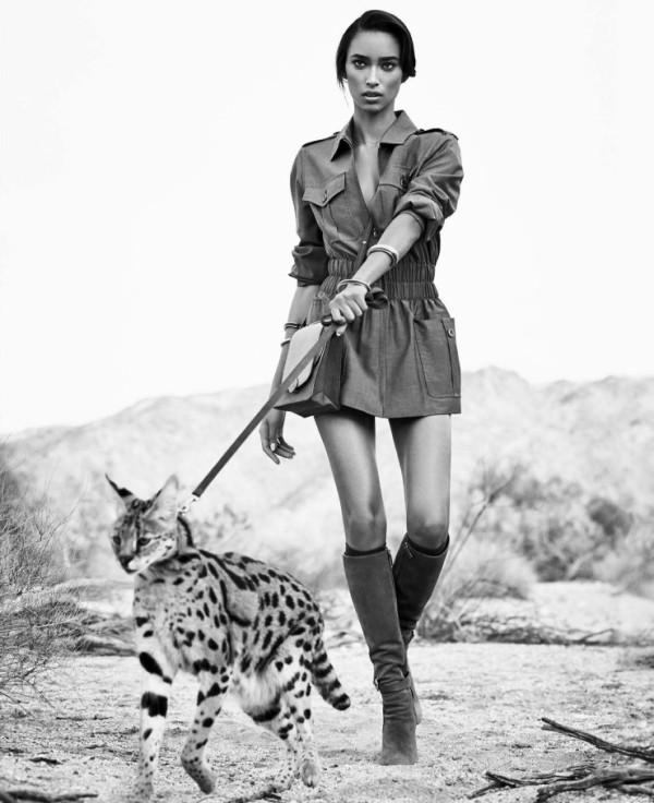 Anais Mali за Harper's Bazaar US – март 2015