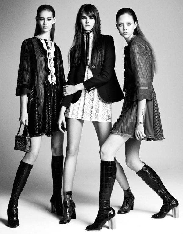 Модните шедьоври на сезон пролет/лято 2015 в една фотосесия