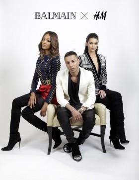 Колаборацията Balmain X H&M потвърдена