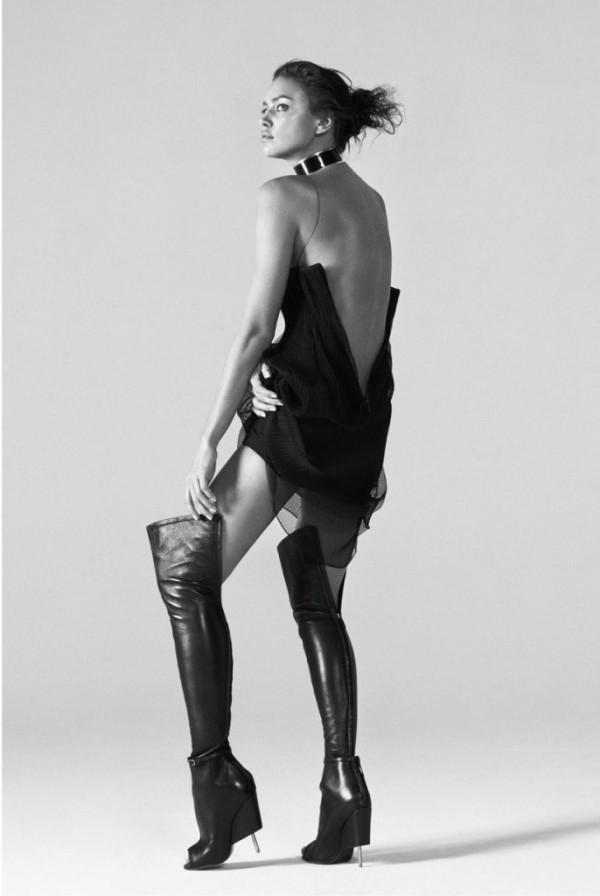 Irina Shayk за Harper's Bazaar China
