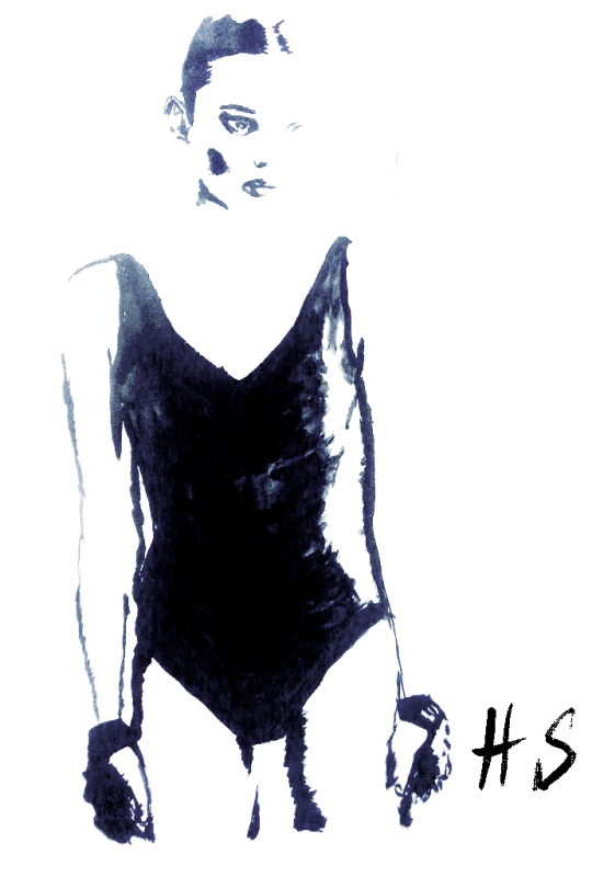 Модни илюстрации: Boxing Girl