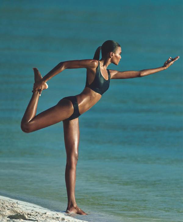 Beauty / Body Proud: Arlenis Sosa за Porter лято 2015