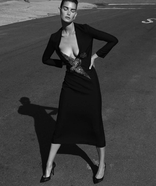 Ophelie Guillermand за Harper's Bazaar Испания – август 2015