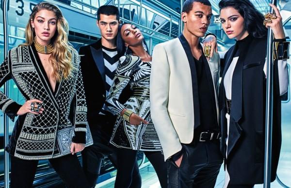 Рекламната кампания на колекцията Balmain x H&M