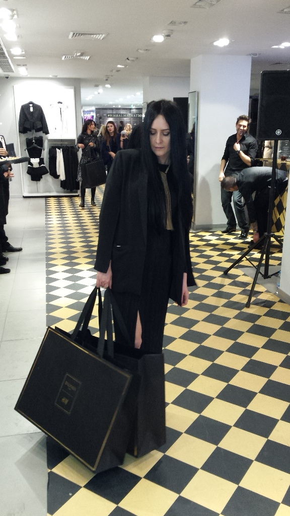 Hrisskas Style моменти от Balmain x H&M Pre-Shopping