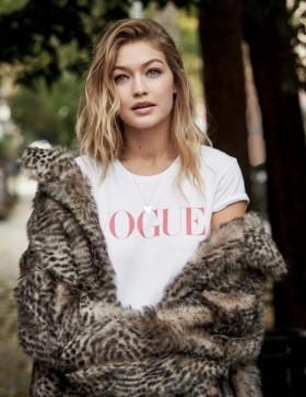 Gigi Hadid за Vogue UK – януари 2016