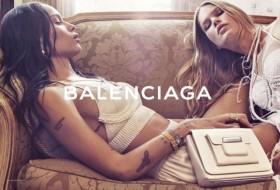 Рекламната кампания на Balenciaga за сезон пролет/лято 2016