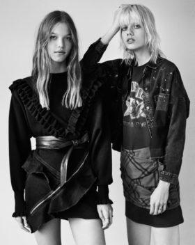 Zara есен/зима 2016/2017: Pretty in Punk