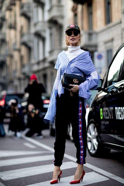 Street Style от Седмицата на модата в модните столици – есен 2017