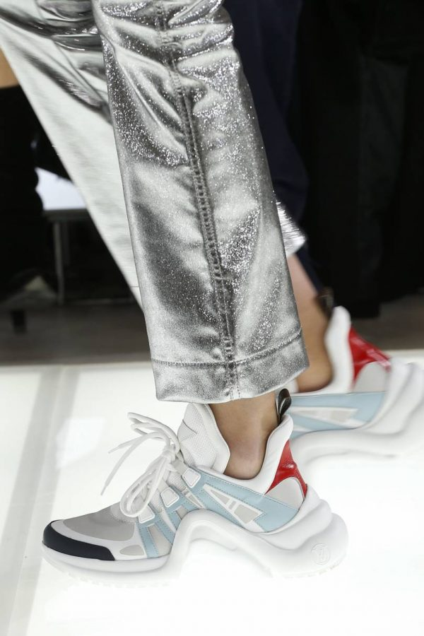Louis Vuitton Spring/Summer 2018 RTW: LV Archlight Trainers