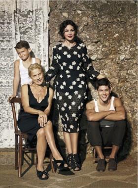 Monica Bellucci и Binca Balti за Dolce&Gabbana