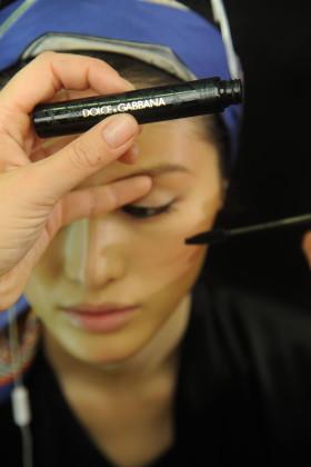Бекстейдж снимки от шоуто на Dolge&Gabbana