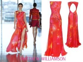 Matthew Williamson и цветовете на пролетта и лятото