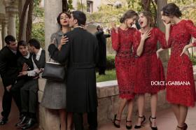 Рекламната кампания на Dolce & Gabbana есен/зима 2013