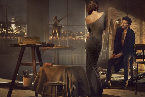 Рекламната кампания на Donna Karan есен/зима 2013