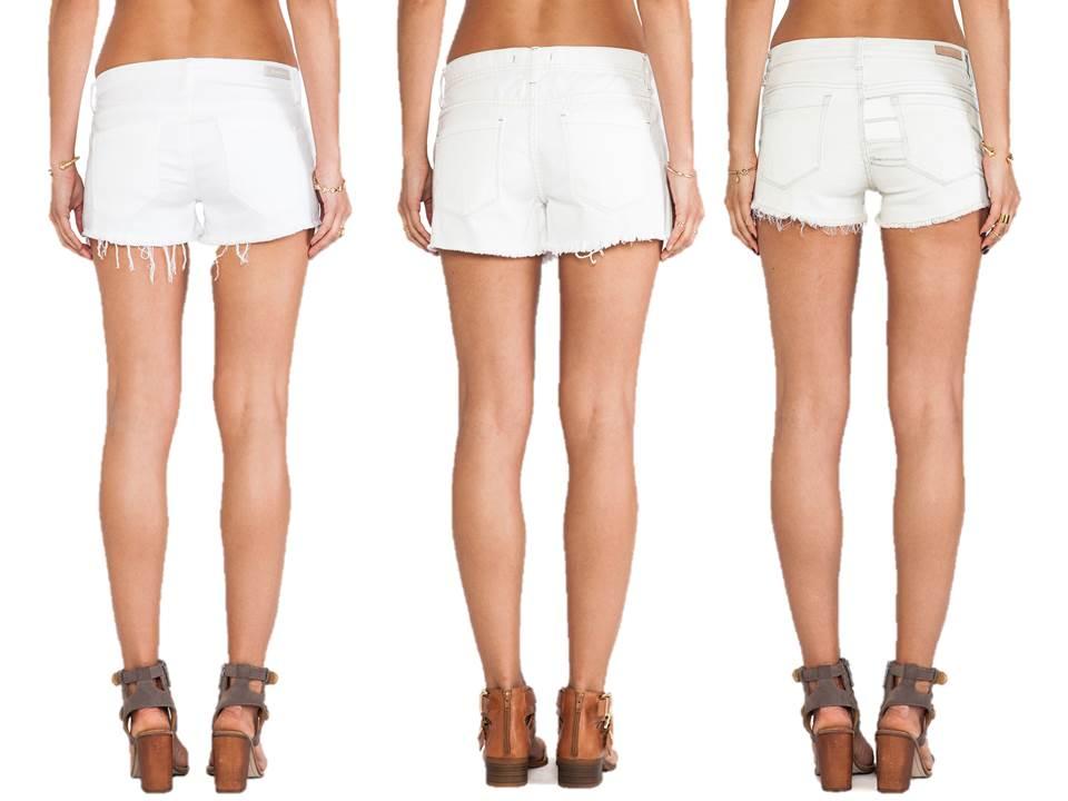 Модерни къси дънкови панталони