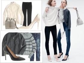 Модни сетове с дрехи и аксесоари J.Crew