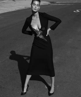 Ophelie Guillermand за Harper's Bazaar Испания – август 2015
