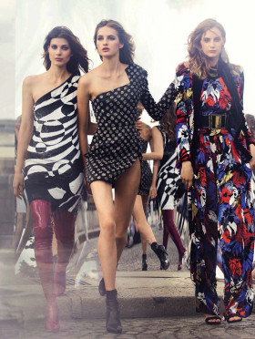 Larissa Hofmann, Melina Gesto и Sanne Vloet за Vogue Spain – септември 2015