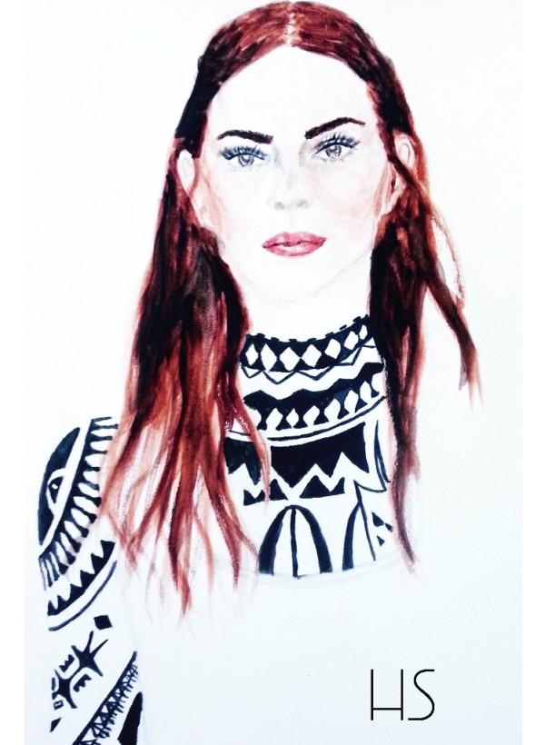 Модни илюстрации: Dsquared2