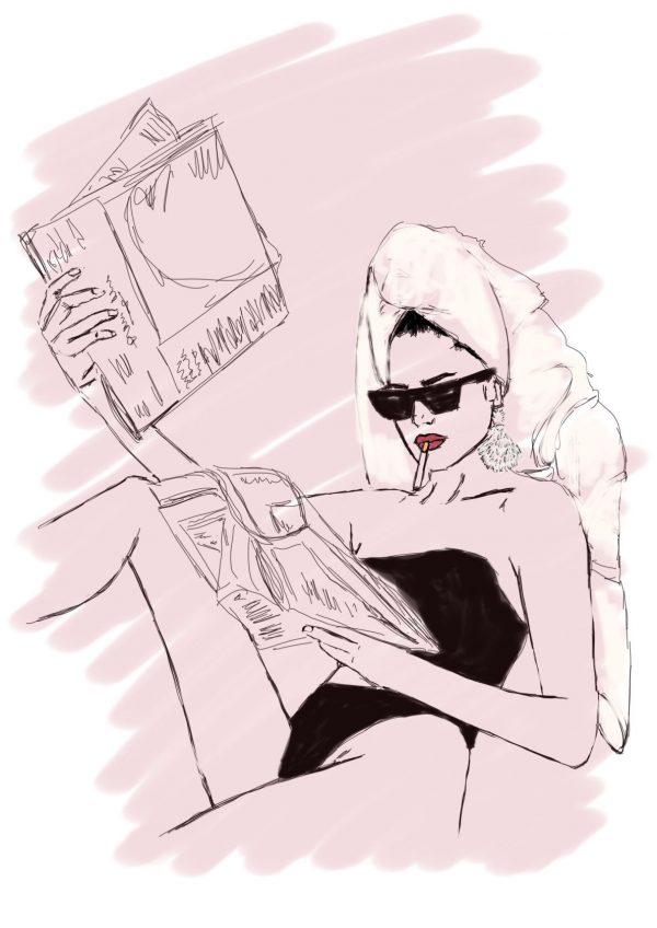 Fashion Illustrations Hrisskas Style